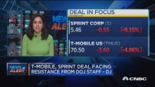 T-Mobile, Sprint deal unlikely in current form, says DOJ