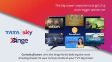 CuriosityStream and Tata Sky Announce New Distribution Partnership to Bring World-Class Factual Entertainment to Viewers Across India
