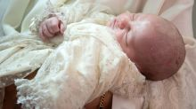 Another royal baby has just been christened
