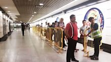 Few problems despite 19 MRT stations closing early