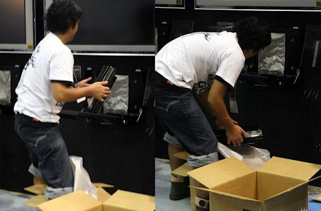PlayStation 3 and packaging spotted in the wild