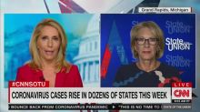 Betsy DeVos Can't Promise Teachers and Kids Won't Get Sick After Reopening Schools