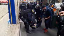 Acte 27 : un CRS se retrouve inconscient au sol et est évacué par les pompiers (vidéo)
