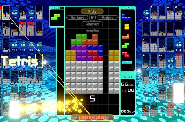 'Tetris 99' hands-on: The battle royale game for everyone else