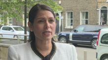 Patel urges people to avoid Floyd protests over Covid fears