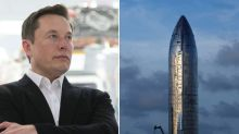 Elon Musk says SpaceX's giant Starship rocket test will happen as early as Wednesday — but there's only a 1 in 3 chance it will land intact