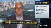 Here's one analyst's homebuilder outlook for 2018