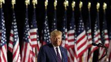 Trump recurre al miedo al pedir 4 años más en la Casa Blanca