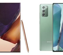 Samsung's Latest Foldable Phone Steals the Show at Note20 Event