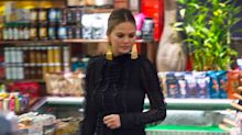 Chrissy Teigen Wore This Ultra-Glam Ensemble to Go Late-Night Grocery Shopping