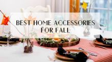 Bring that cosy autumn feeling into your home with these home accessories