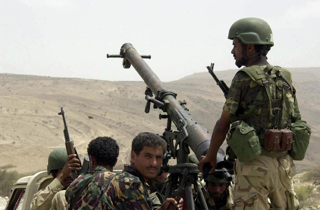 Yemeni troops backed by a coalition of Arab states have been battling the Huthi rebels since 2015