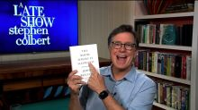 Stephen Colbert mocks A.G. Barr, reveals he already has Bolton's book DOJ is suing to stop