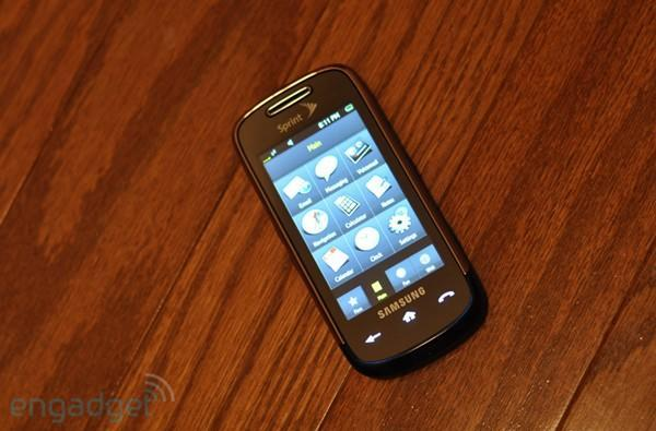 Samsung Instinct s30 review