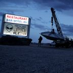 The Latest: Music begins at event Nevada town near Area 51
