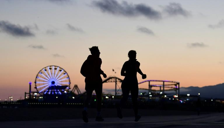 California has gradually reopened after months of shutdown (AFP Photo/Frederic J. BROWN)