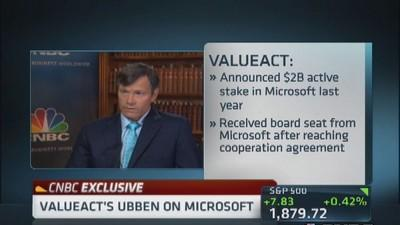MSFT different company with Nadella's leadership: Ubben