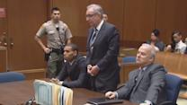 Chris Brown back in court with Rihanna at his side