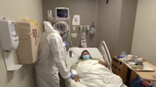 Inside a Texas hospital overwhelmed by virus cases