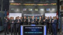 GTA Resources and Mining Inc. Closes the Market