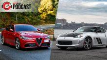 Alfa Romeo Giulia Quadrifoglio and Nissan 370Z 50th Anniversary | Autoblog Podcast #600