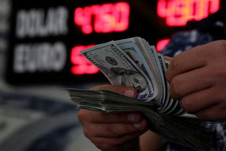 Dollar slips on CPI miss, hopes for U S -China trade reset