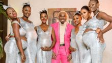 Influencer shocks flaunting six 'baby mamas' at the same time