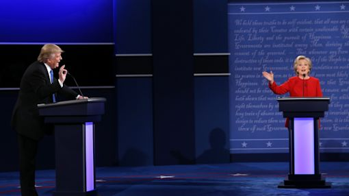 Clinton dominates first presidential debate against a blustering Trump