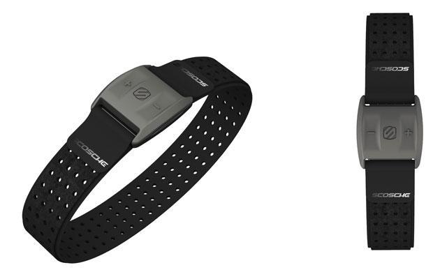 Scosche's new heart rate armband helps you leave the smartphone at home
