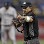 The hypocrisy of umpires complaining about players is obvious in their empty wristband protest