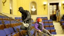Tennessee mother and son pictured with zip-ties in Senate are charged with conspiracy following Capitol riot