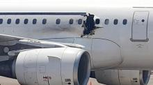 Passenger Catches Fire and Is Sucked From Plane at 14,000 Feet
