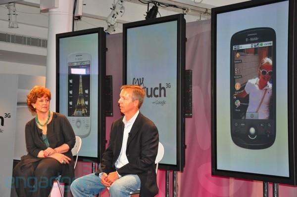 T-Mobile's myTouch 3G launch event: pre-orders now available