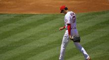 Angels' Shohei Ohtani strains arm, won't throw for 4-6 weeks