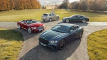 Bentley's half-year profits for 2021 were higher than any full year in its history