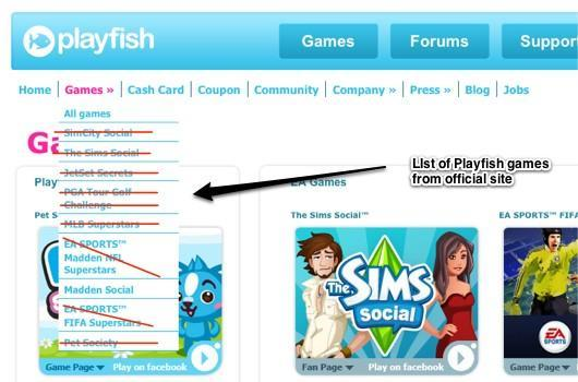 EA retiring Playfish Facebook games [update]