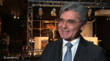 Siemens CEO Kaeser on Cybersecurity, Dalio Bet, Middle East Growth