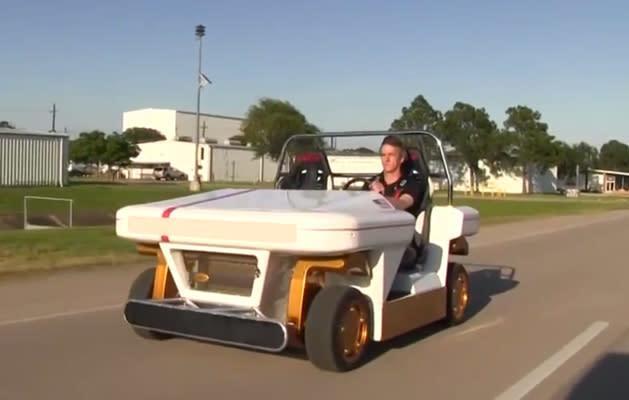 NASA demos incredibly agile, remote-controlled EV