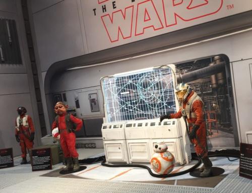 Star Wars: The Last Jedi SDCC comic-con poe dameron nien nunb bb-8 c'a threnalli
