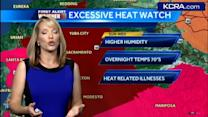 Eileen's Saturday forecast: Triple-digit temps continue