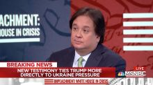 George Conway Blasts GOP's 'Incoherent' Hearing Performance in MSNBC Debut
