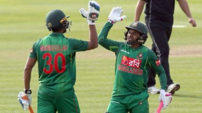 Bangladesh down New Zealand to boost 2019 World Cup push