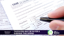 Word on the street: taxpayers may be in for a surprise this spring