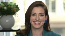 'It doesn't come naturally...there were tears': Anne Hathaway on her dreaded return to a British accent