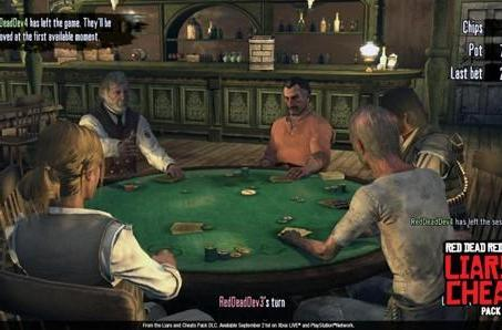 Take a gamble on Red Dead Redemption 'Liars and Cheats' screenshots