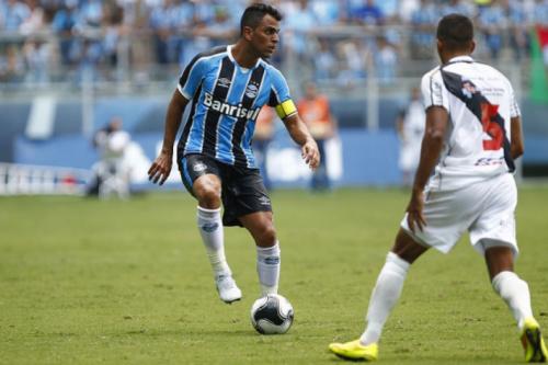 Maicon não treina e vira dúvida para semifinal da Copa do Brasil