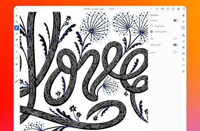 Adobe Illustrator arrives on the iPad