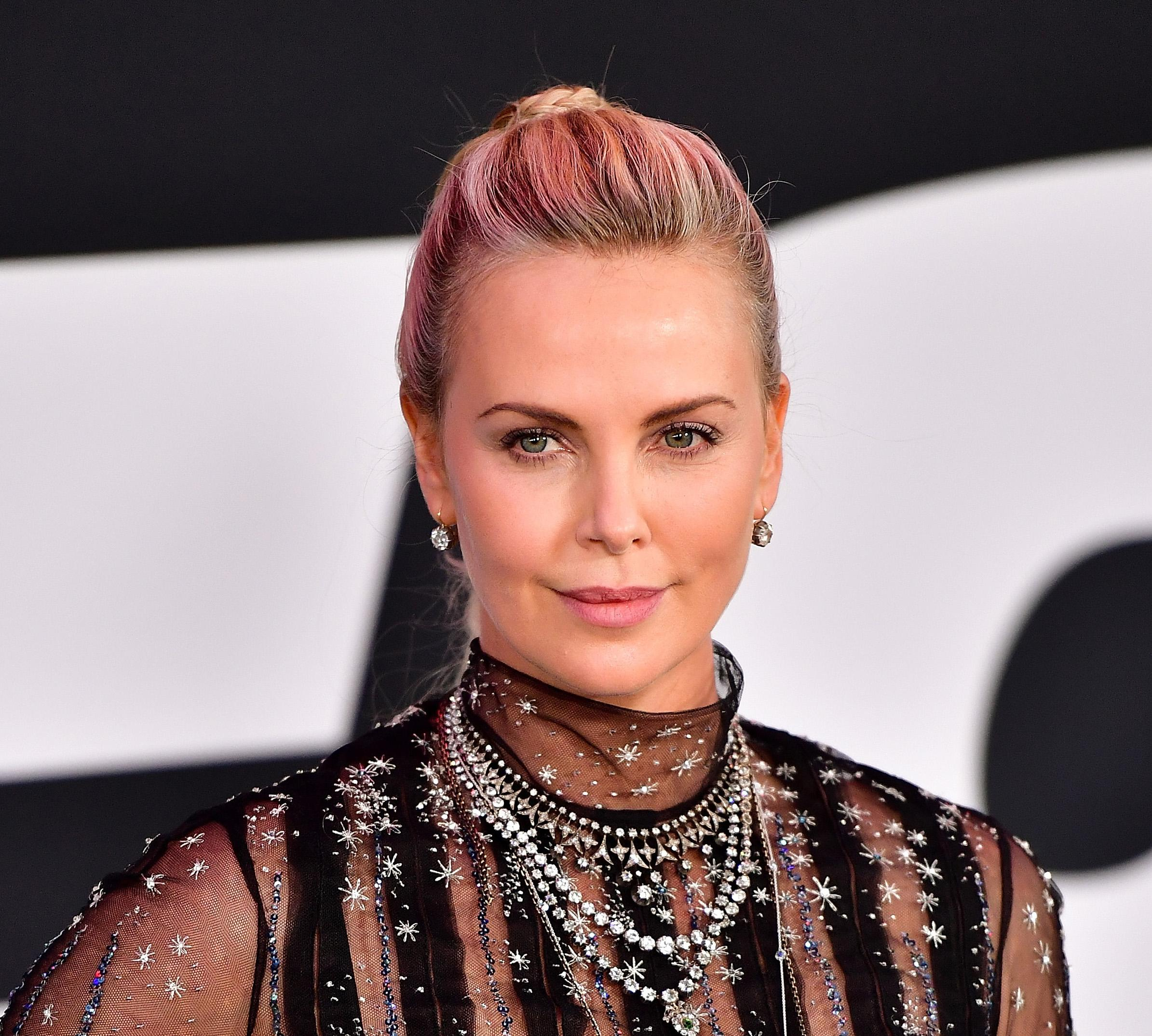 Charlize Therons Double Braided Ponytail Will Be Your New Favorite