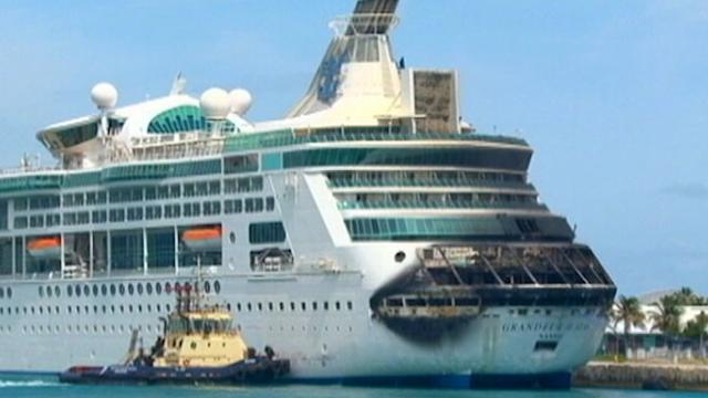 Cruise Ship Passenger: 'Saw Fire Jump Out of Ship'