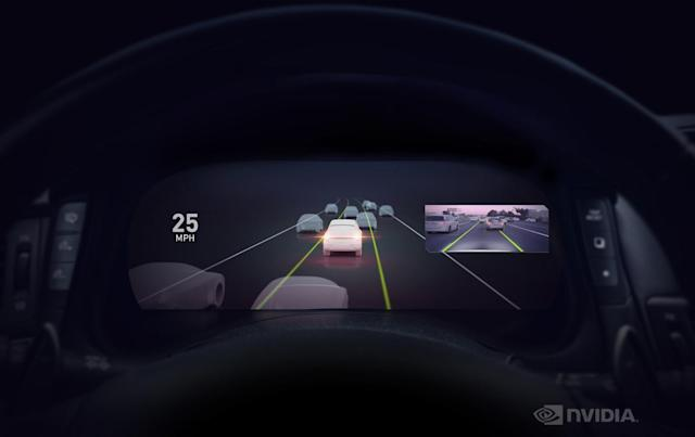 NVIDIA's Drive AutoPilot gives vehicles driver assistance features